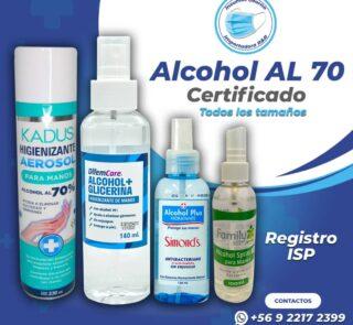alcohol gel variedades